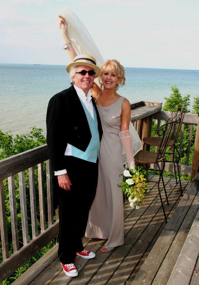 Jamie and Karen on deck