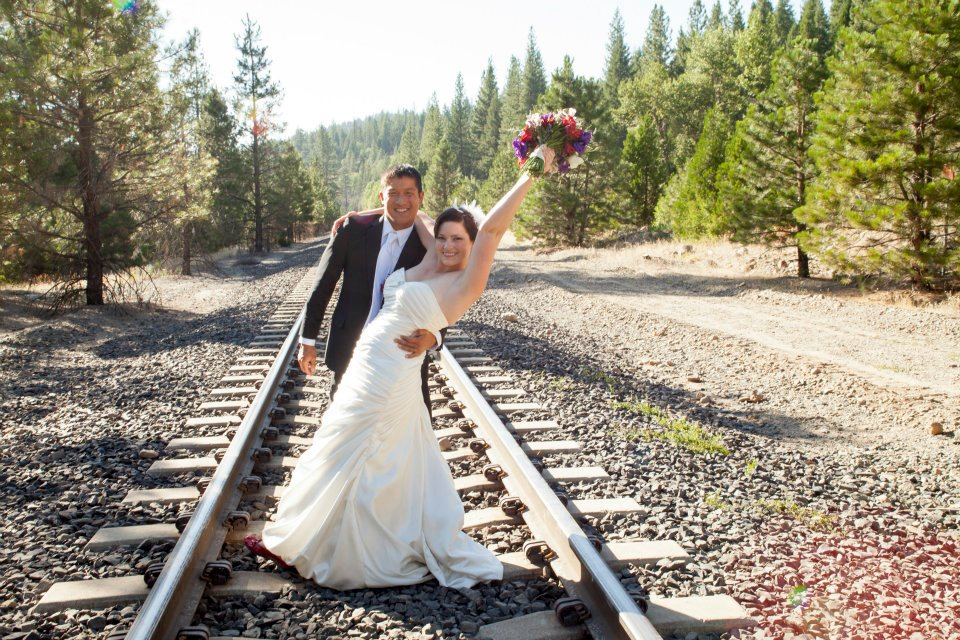 Katherine and Dou railroad